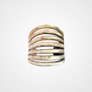 Bracelet made of horn